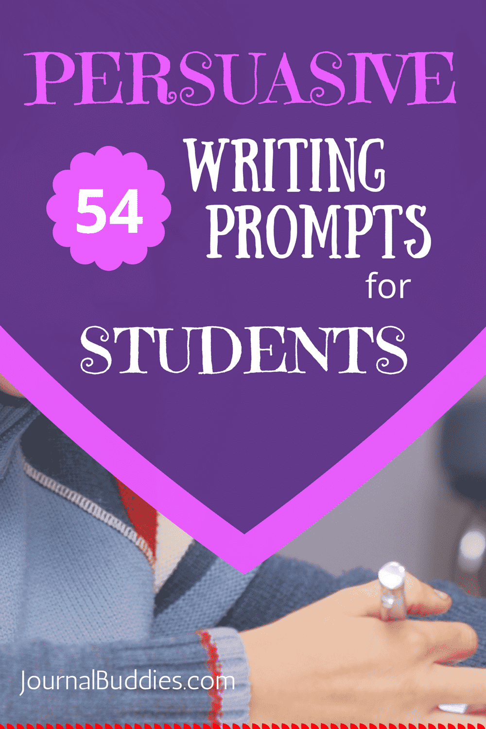 54 Persuasive Writing Prompts for Students