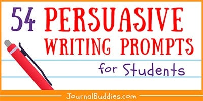 Kids Persuasive Writing Ideas