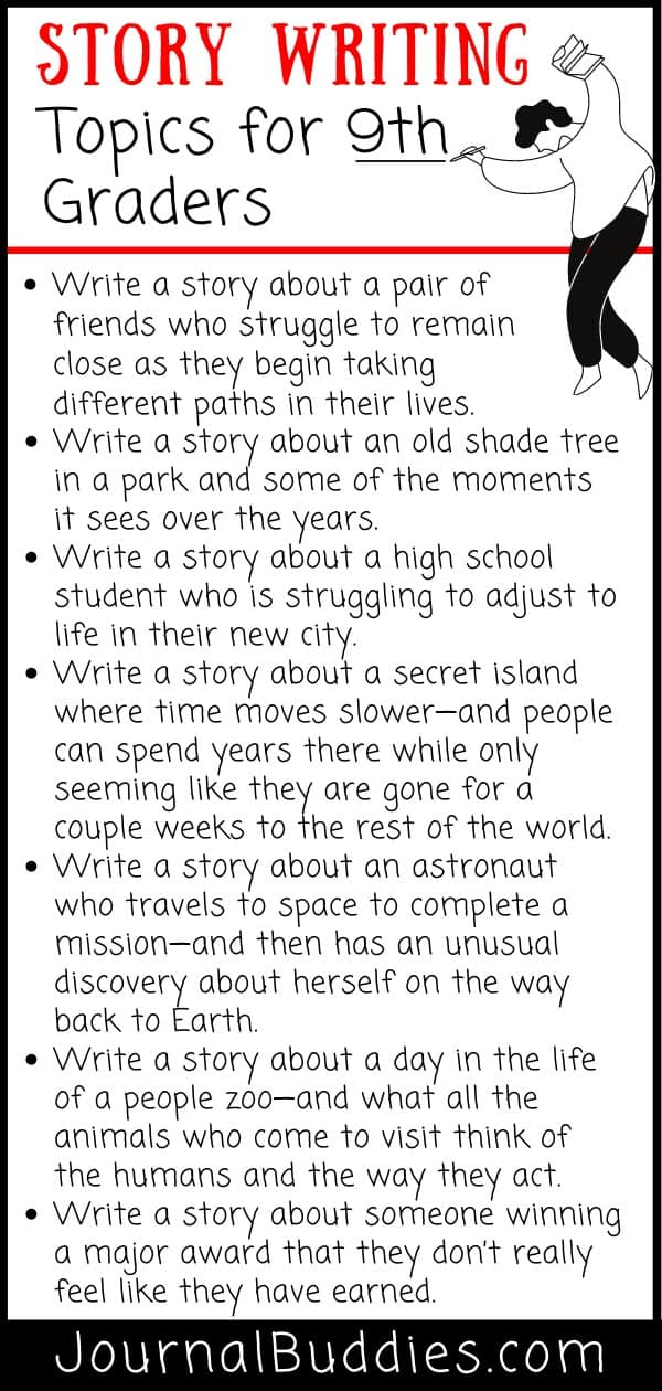 Story Writing for Grades 5-9