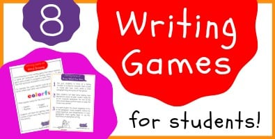 Writing Games for Students