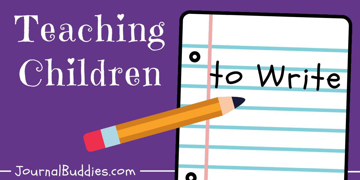 kids how to write