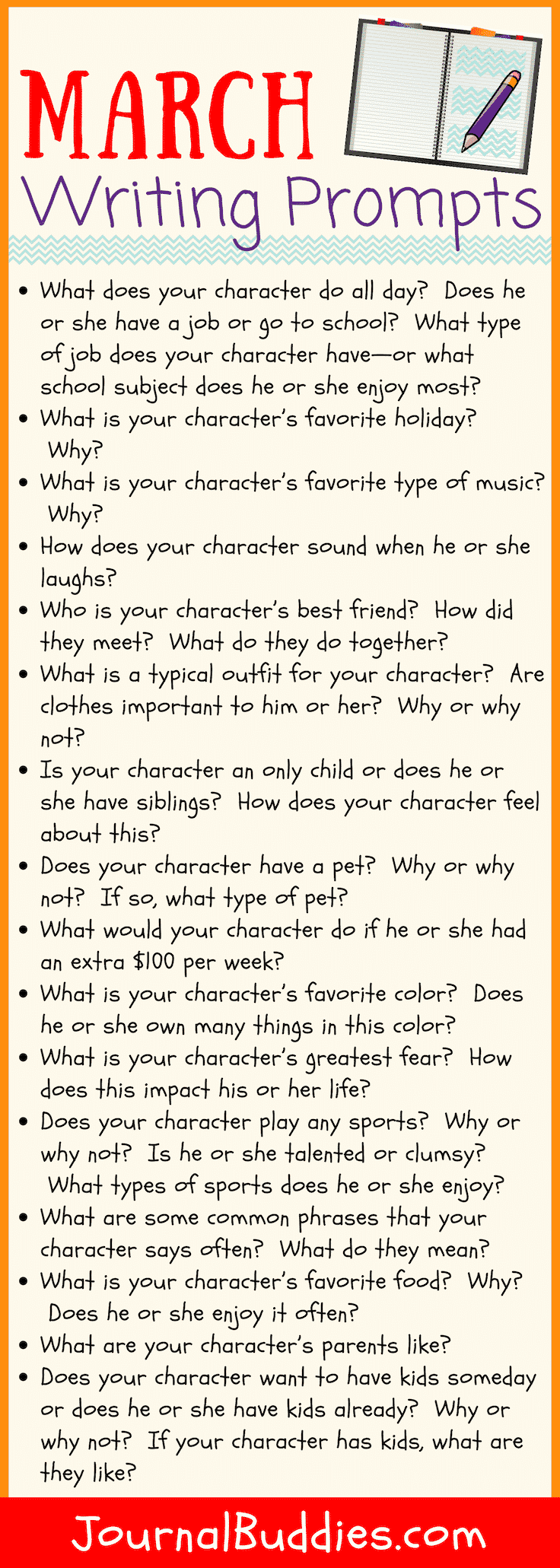 Short Story Ideas for Students for the Month of March