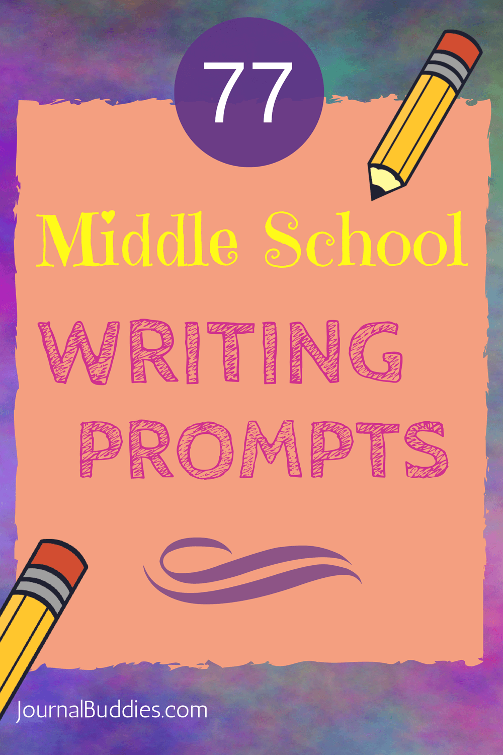 Middle School Writing Prompts Part 3/3