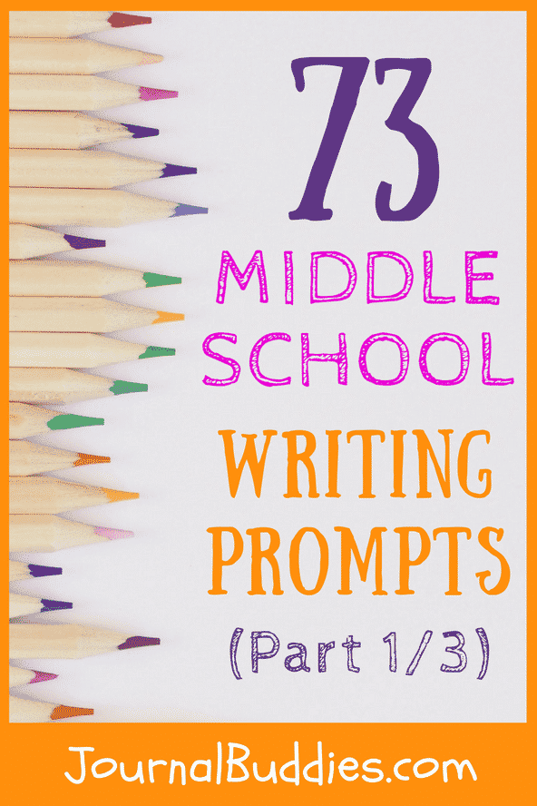 Welcome to the exciting world of journal writing prompts! Here you will find many fun ideas for middle school students to write about in their journals.