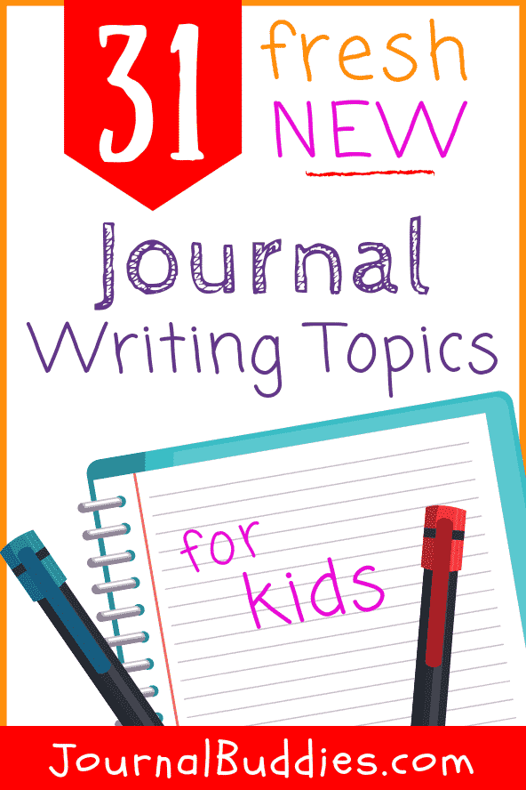 Check out these 32 journal writing topics to inspire your kids to write! Journaling is an aid to a growing child's sense of self and helps them make decisions about their future and take action toward securing that future for themselves: all ways of reinforcing and increasing self-esteem and self-confidence.