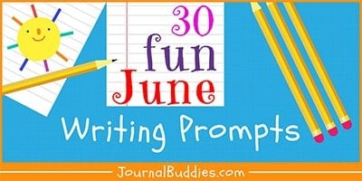 Summer Writing Prompts for June