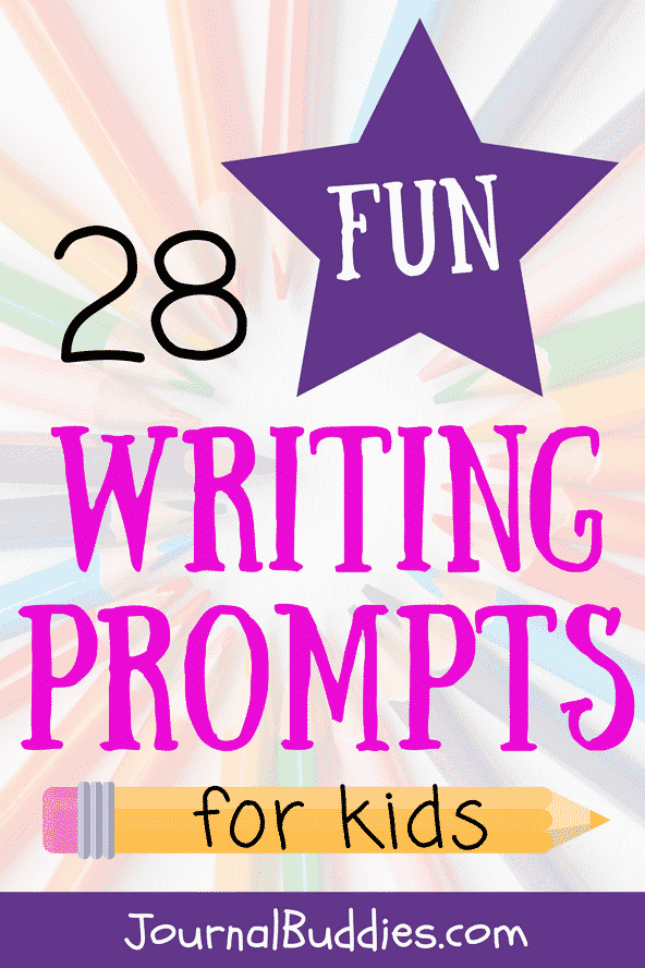 Fun Journal Writing Prompts for Kids