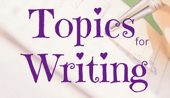 Topics for Writing