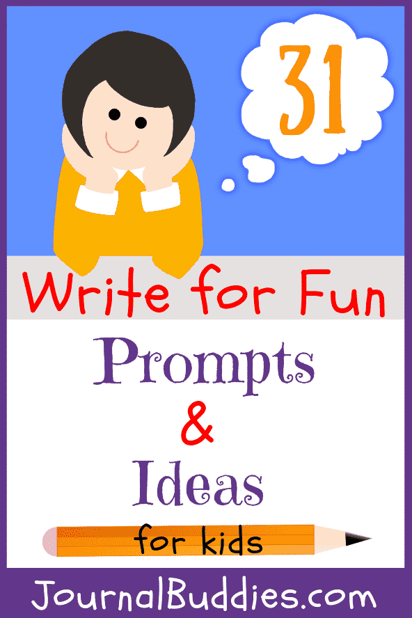 See these 31 fun writing ideas and give your students an exciting and FUN jumping off point for their writing!