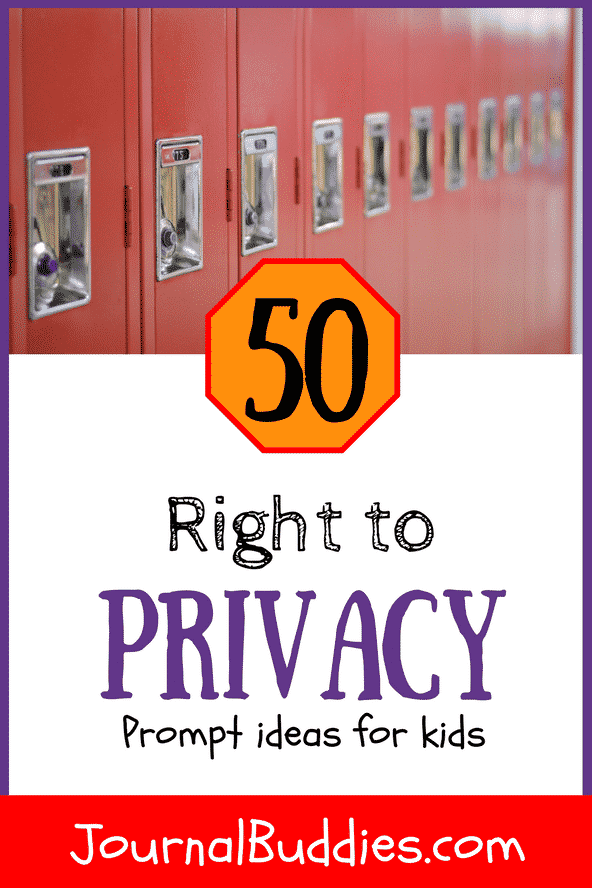 These 50 new journal prompts offer students the chance to think about their own right to privacy, the government's motives for surveillance, and the ramifications of wide-scale public monitoring.