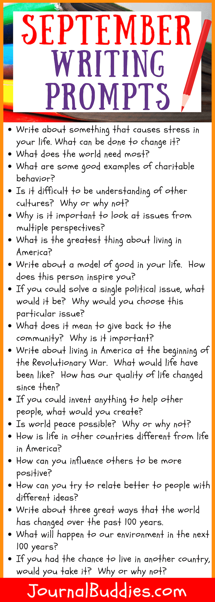 Use these journal prompts to teach students about important world issues from a lens of positivity.