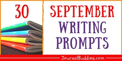Journal Prompts for the Month of September