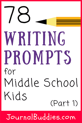 Journal writing is a fabulous way to reinforce your child's middle school writing practice because it is creative, versatile, and easy to implement into lesson plans!