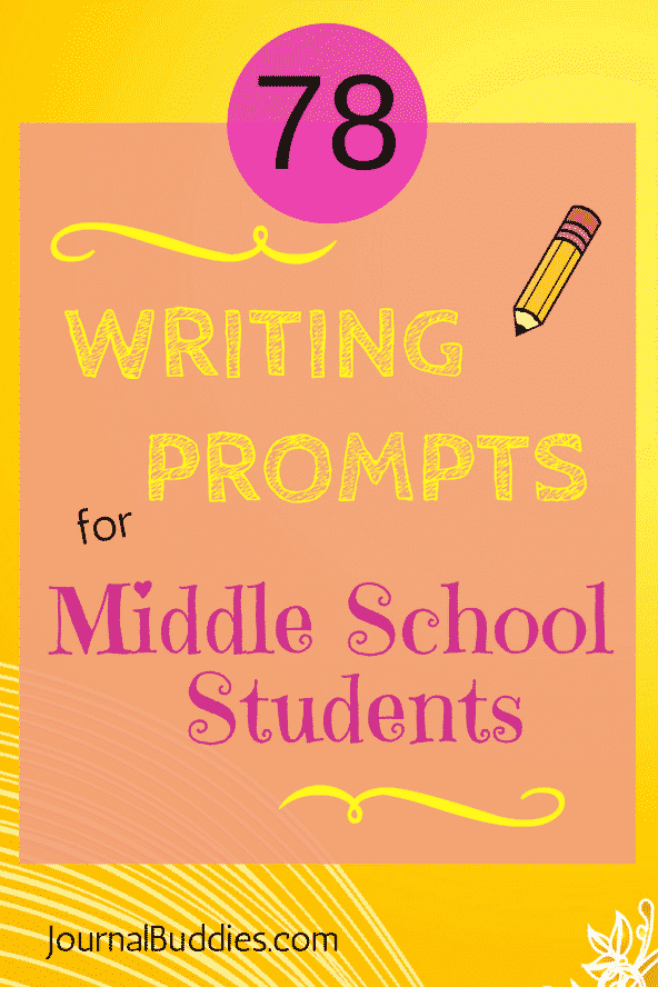 See this! Journaling can help students clarify their thoughts and feelings, reduce stress, and solve problems more effectively - perfect for middle school students! First in a series of three posts, you'll find 78 thought provoking journal prompts and writing ideas designed for middle school writers.