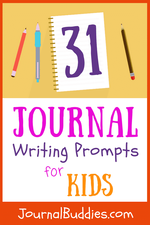 When kids journal, they slow down a bit and think about the people, situations, and influences in their lives that impact them the most.