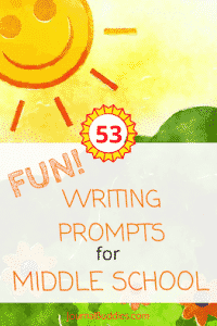 Fun Writing Prompts for Middle School Students
