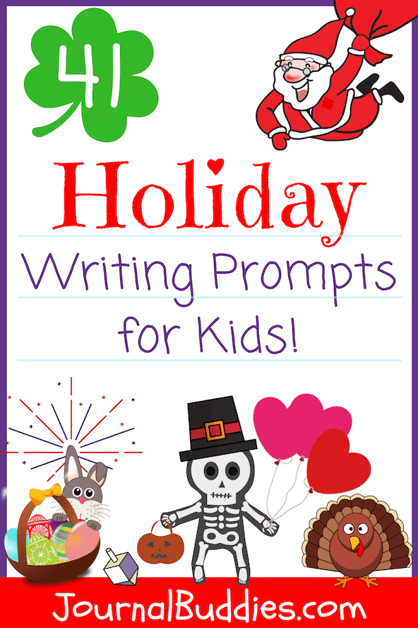 Give your students a little direction and inspiration with these journal prompts and writing ideas about holidays all throughout the year!