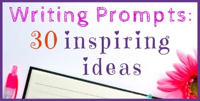 Writing Prompt: 30 Inspiring Ideas