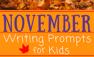 30 November Writing Prompts for Kids