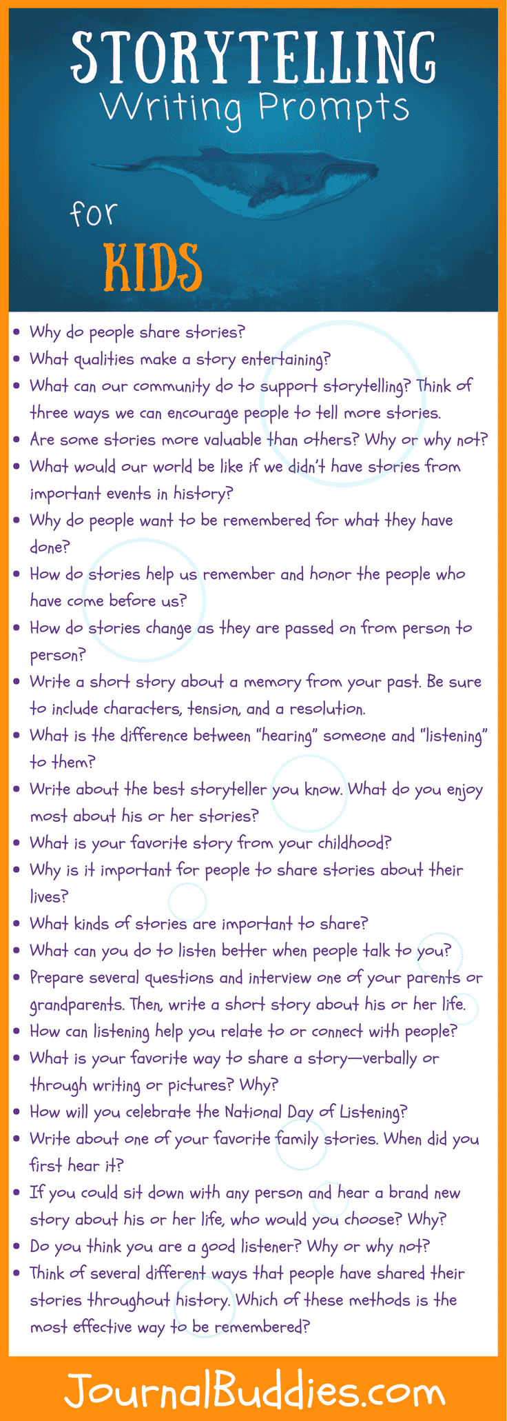 Storytelling Writing Exercises for Students