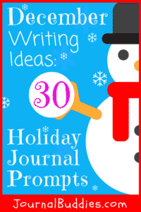 Invite students to write about their favorite memories and to create some new ones with these special holiday journal prompts!
