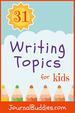 When students journal, they stretch their imaginations and explore their creativity. Here are some neat writing topics to inspire your kids to write!