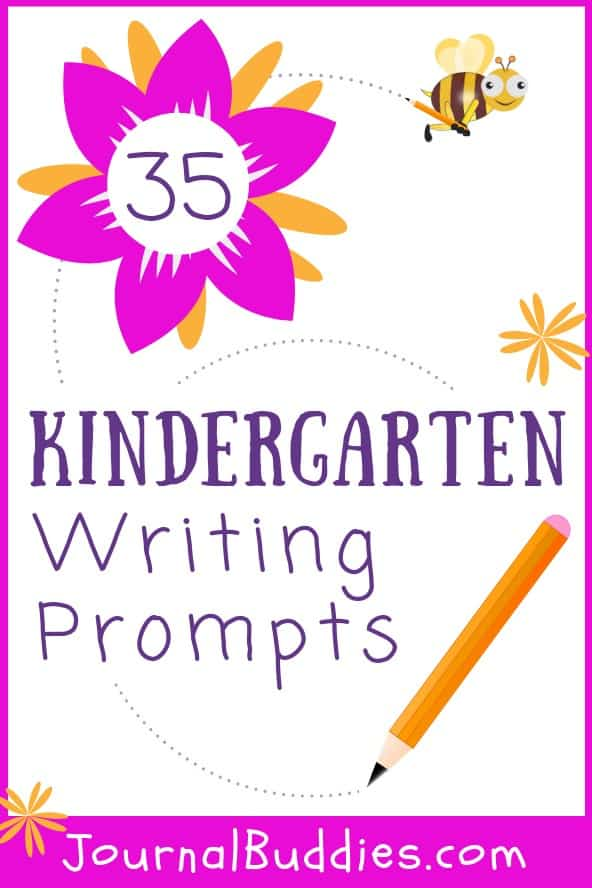 Writing Ideas for Kindergarten Students