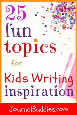 Inspire some insights and A-ha's or spark some imaginative new stories with these fun writing topics for kids!
