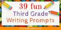 Third Grade Journal Writing Prompts for Students