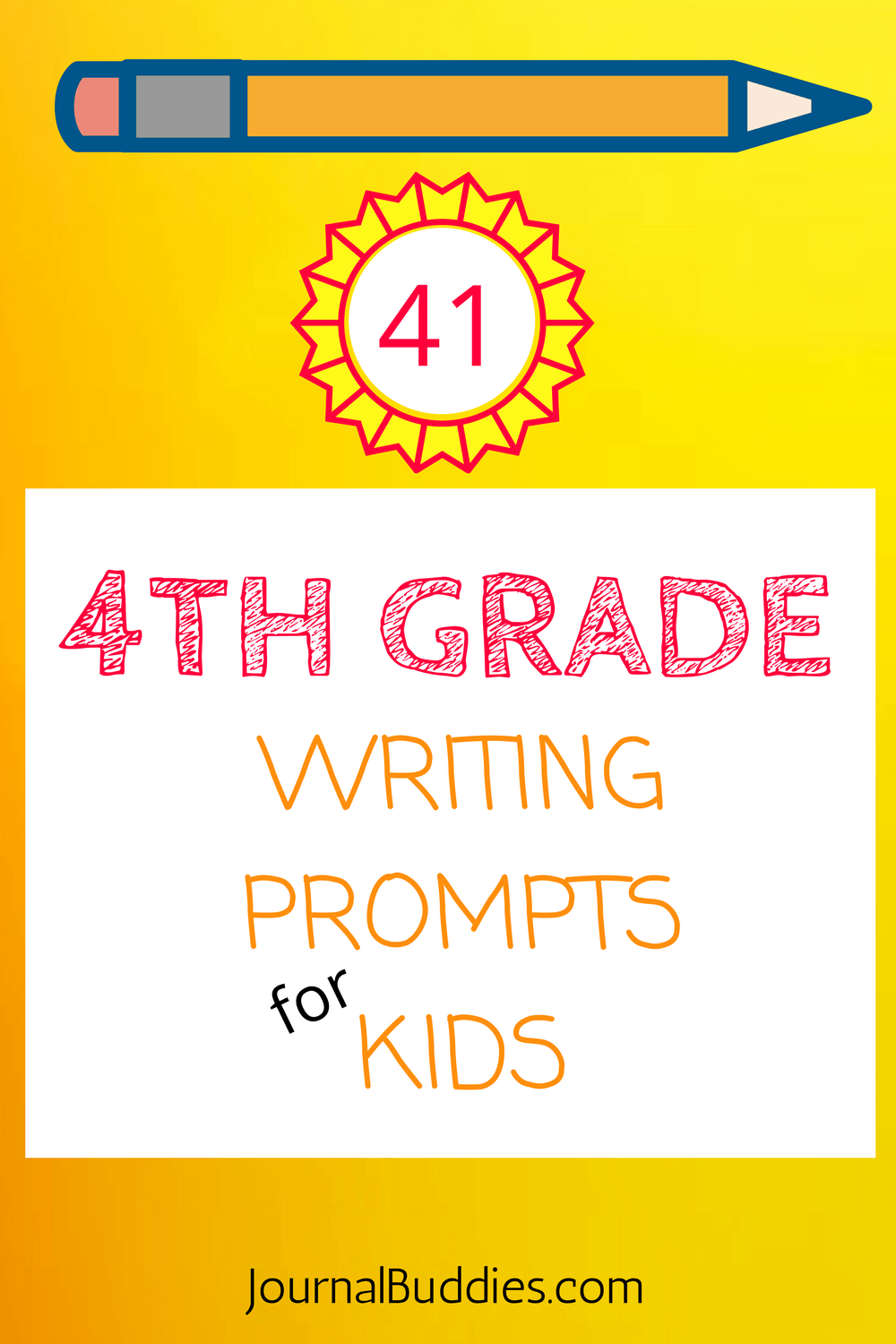 Writing Prompts for 4th Grade