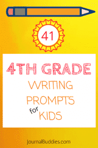 Writing Prompts for 4th Graders