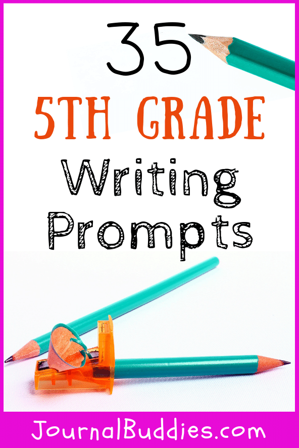 Use these writing prompts for 5th-grade students to help kids express themselves and grow more comfortable with their own thoughts and ideas.