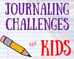 35 Journaling Challenges for Kids
