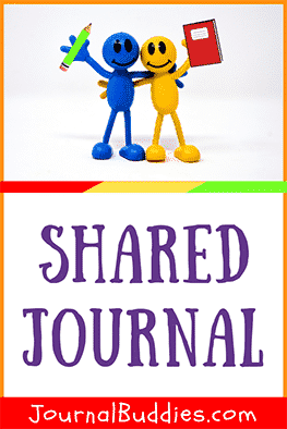 When shared with friends or family members, journaling is also a great way for students to connect with the people around them.