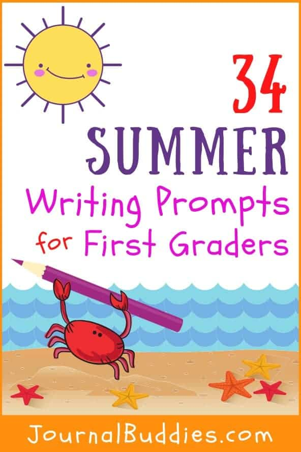 1st Grade Summer Writing Topics