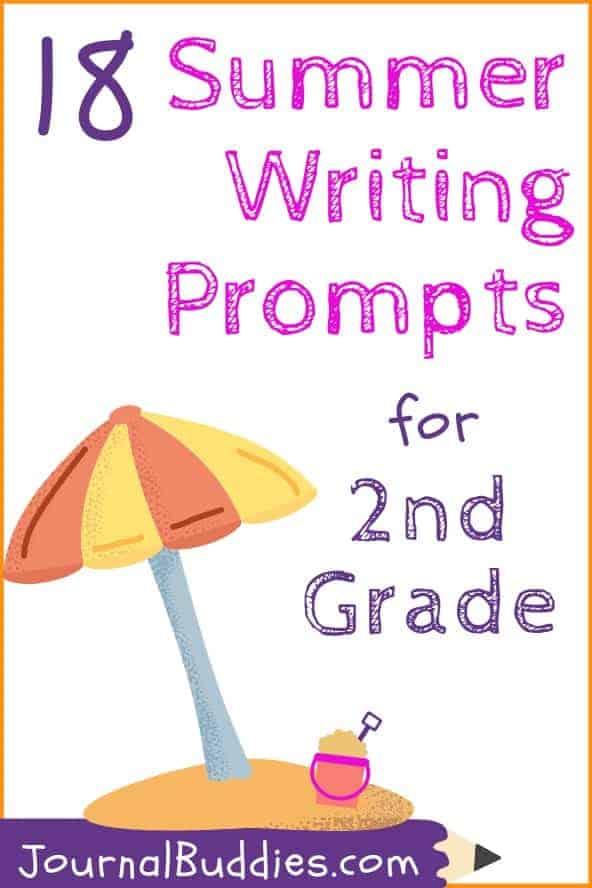 2nd Grade Summer Writing Topics