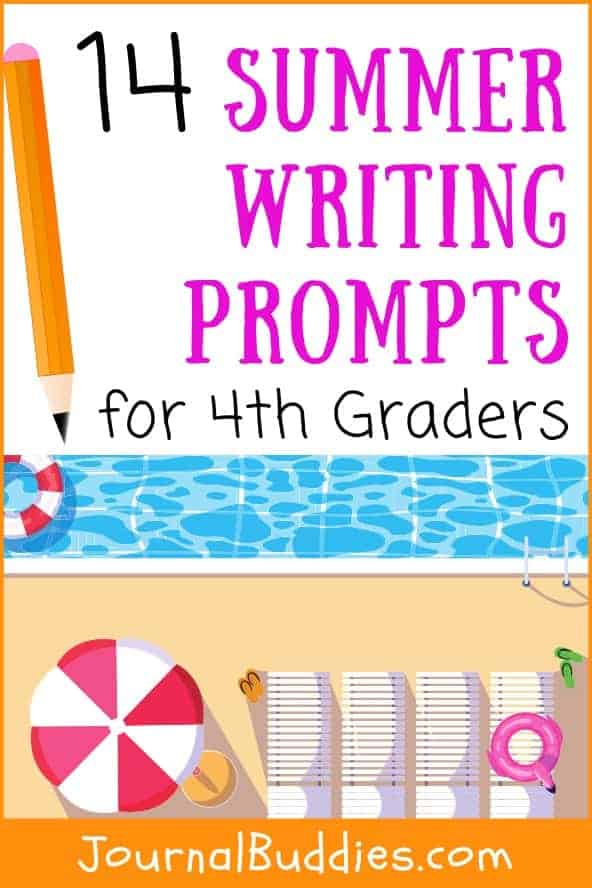 Summer Journal Prompts for 4th Grade