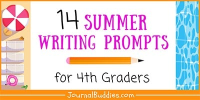 Summer Writing Prompts for 4th Graders