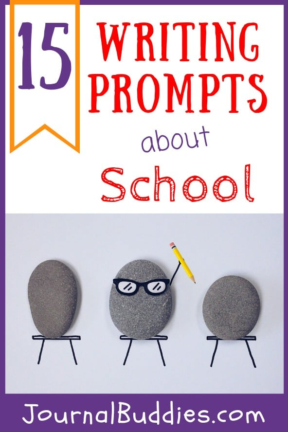 Soon kids of all ages will be back in the classroom so we decided to write some new, fun writing prompts that are all school-themed.