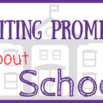 Writing Prompts about School for Kids