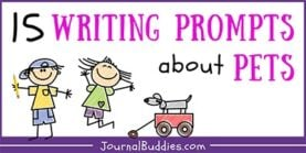 15 Writing Prompts about Pets