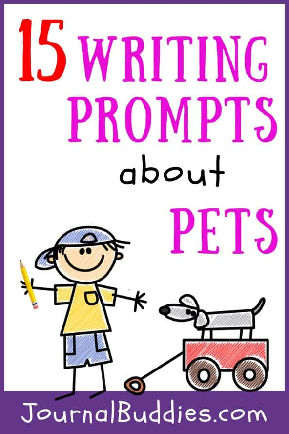 Our list of writing prompts about pets for children of all ages, but the ideas are especially pertinent for 1st, 2nd and 3rd grade students.