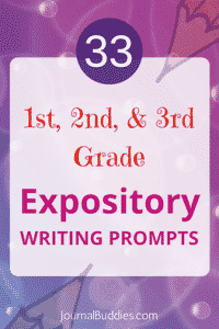 Expository Writing Prompts 1st, 2nd, 3rd grade