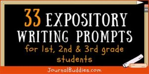 1st-3rd Grade Expository Writing Ideas for Students