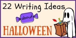 Halloween Writing Ideas