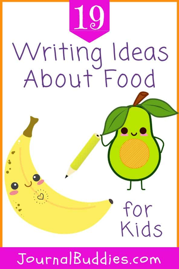 Writing prompts can help to make creative writing more fun and enjoyable for children, but these food-themed writing ideas may make them hungry to boot!