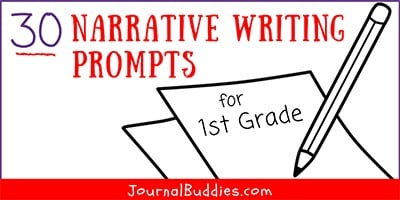 Narrative Writing Ideas for Grade 1