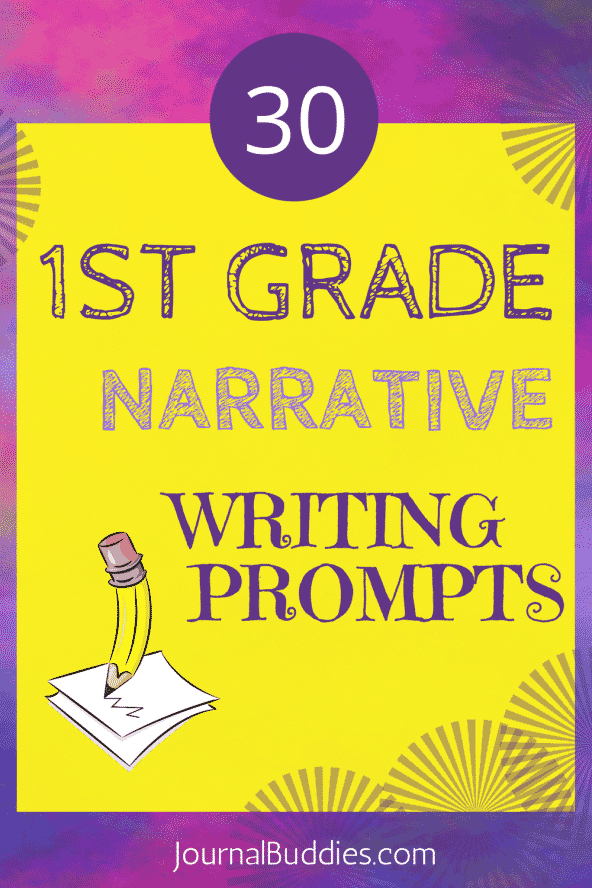Narrative Writing Prompts for 1st Grade