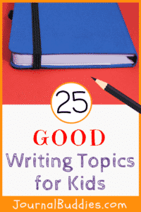 Writing is a great way to improve a child's writing skills and using these 25 good writing topics should get them off to an excellent start.
