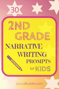 Narrative Writing Prompts for Second Grade